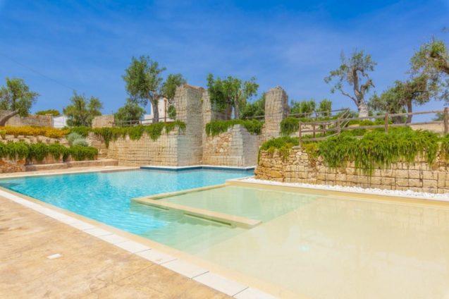 Pool Cava Li Santi Residence