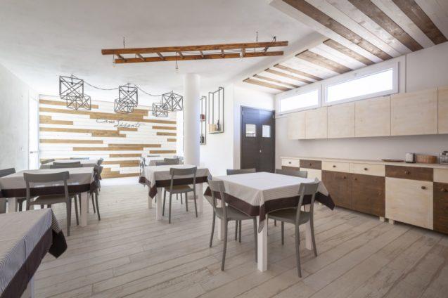 Cucina e Sala Ristoro per Gruppi