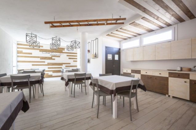 Kitchen and Dining Room Cava Li Santi